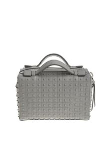 Tod's - Gray leather bag