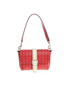 Red Valentino - Red leather bag with flowers