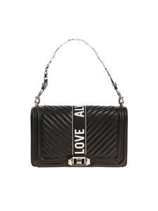 Rebecca Minkoff - Black quilted leather Love bag