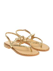 Ash - Golden Peps thong sandals