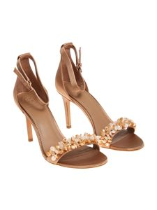 Tory Burch - Bronze color Logan sandals