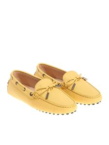 Tod's - Heaven yellow loafers