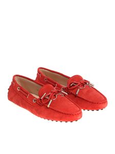 Tod's - Red loafers with rubber pads