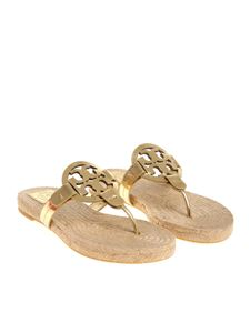 Tory Burch - Golden Miller thong sandals