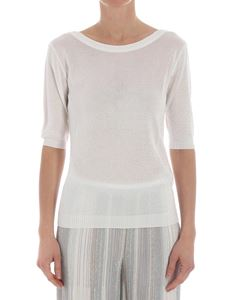Missoni - White lurex blouse