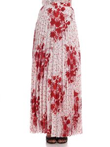 Ermanno Scervino - Floral printed pleated skirt