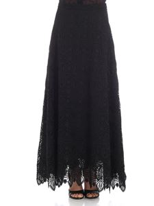 Ermanno Scervino - Black macramé skirt