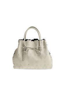 Ermanno Scervino - White carved leather bag