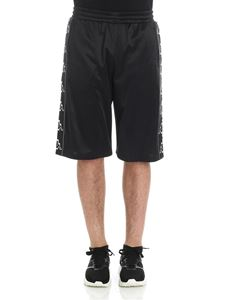 Marcelo Burlon - Black bermuda with logo