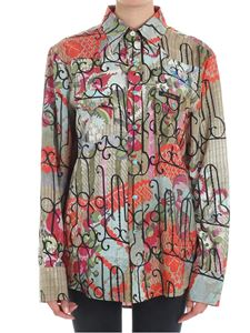 Vivienne Westwood  - Multicolor Sid viscose and silk shirt