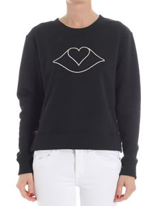 See by Chloé - Black sweatshirt with logo