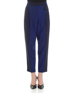 Paul Smith - Navy blue and cobalt blue trousers