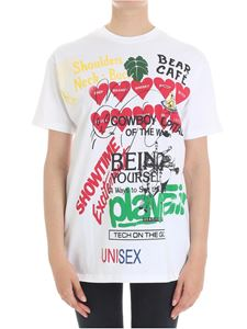 Vivienne Westwood Anglomania - White Boxy Meaningless t-shirt