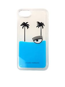 Chiara Ferragni - Palms beach I-phone 8 cover