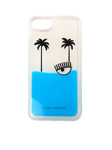 Chiara Ferragni - Palms beach I-phone 6/6S/7 cover