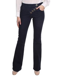 Chloé - Blue denim flared jeans