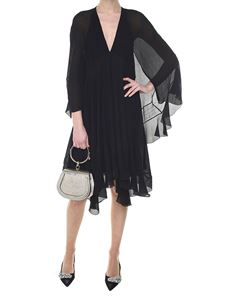 Chloé - Black silk crepe dress