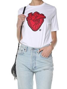 Dsquared2 - White heart-print T-shirt