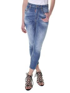 Dsquared2 - Twiggy high-rise jeans