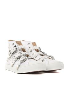 Chloé - White leather Kyle sneakers