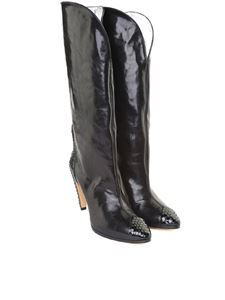 Givenchy - Black leather boots