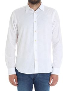 Paul Smith - White jaquard shirt