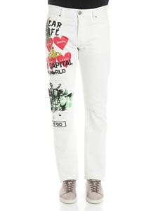 Vivienne Westwood Anglomania - White Harris jeans