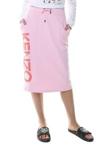 Kenzo - Pink longuette with logo