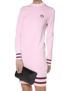 Kenzo - Pink knitted Tiger dress