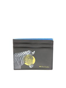 PS by Paul Smith - Black Zebra card holder