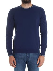 Fay - Blue cotton sweater