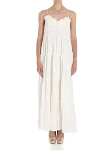 See by Chloé - Embossed fabric long dress