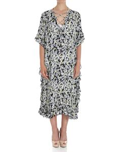 See by Chloé - Floral tied-neck dress with ruffles