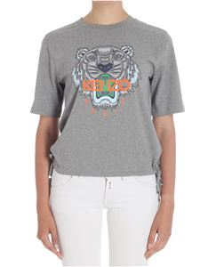 Kenzo - Gray Tiger crew neck t-shirt