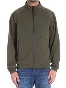 Woolrich - Army green Southbay bomber jacket
