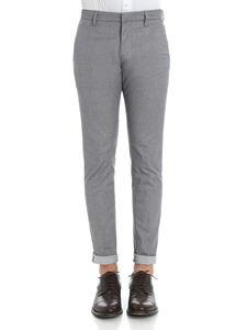 Dondup - Gray cotton trousers