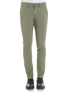 Dondup - Army green Bryan trousers