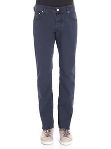 Jacob Cohën - Dark blue 5 pocket jeans