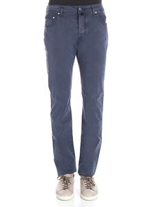 Jacob Cohën - Blue chambray jeans