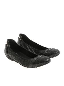 Hogan - Black Wrap 144 ballerinas