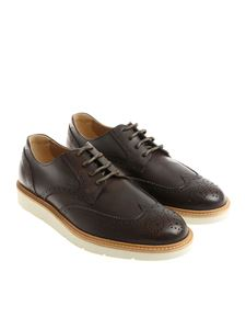 Hogan - Brown Derby H322 shoes