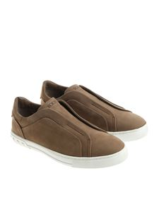Tod's - Taupe slip on