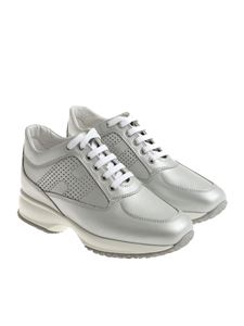 Hogan - Silver Interactive sneakers