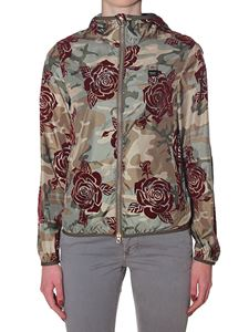 Blauer - Camouflage Layla flower printed jacket