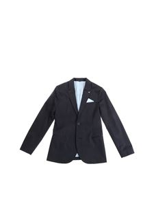 Armani Jr -  Blue cotton suit