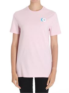 Etre Cecile - Pink French Lines crewneck T-shirt