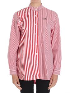 Etre Cecile - Red and white striped Deja Dude shirt