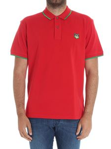 Kenzo - Red polo with logo