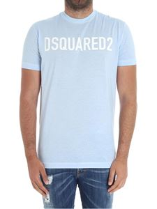 Dsquared2 - Light blue t-shirt with logo