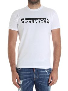 Dsquared2 - White t-shirt with logo